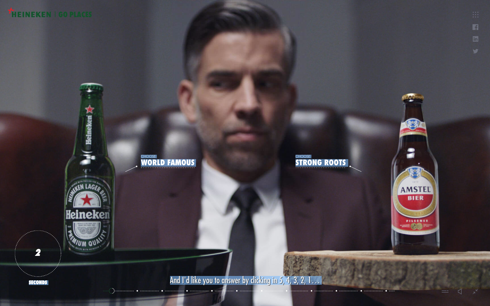 A brilliant Employer Branding campaign: well done Heineken!